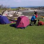 Isle of Eigg Wild Camping